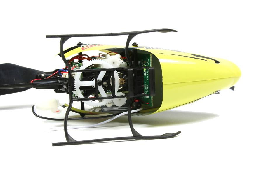 Blade Nano CPX BNF - Blick von unten