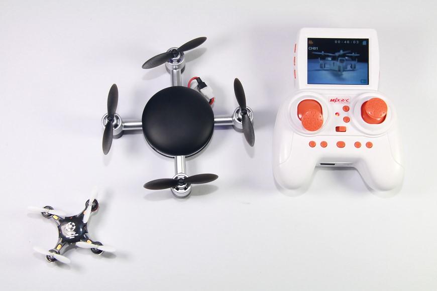 DS24 MJX X906T Mini Lilly FPV Quadrocopter: Bildübertragung auf den Sender