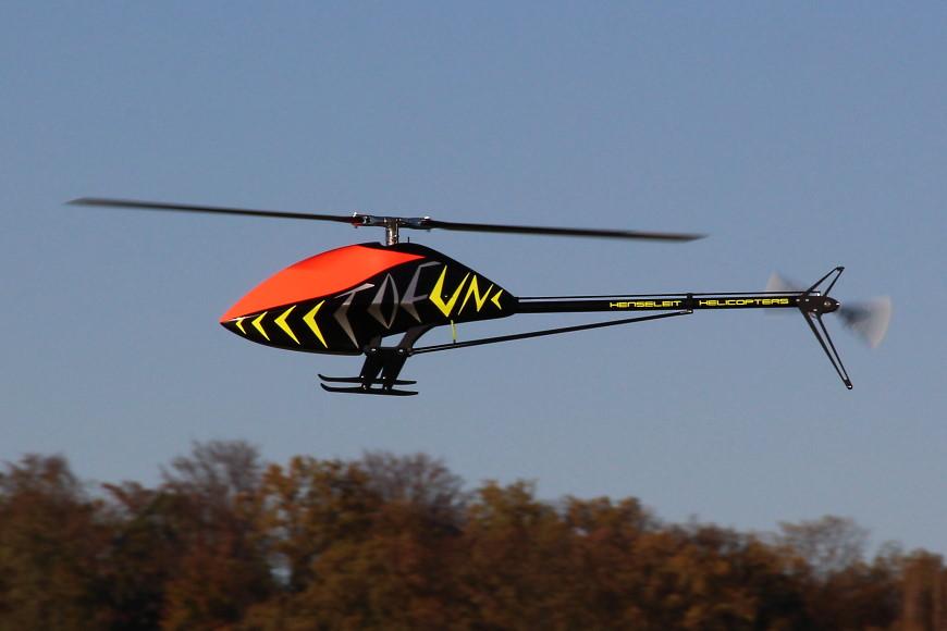 Henseleit TDF - Jungfernflug: Alles fühlt sich perfekt an...