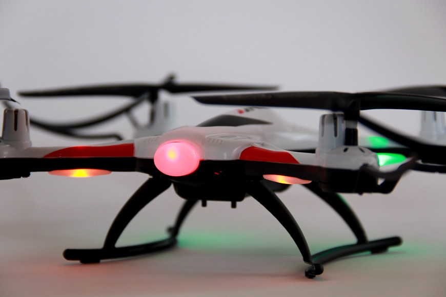 JJRC H31 Quadrocopter - Beleuchtung