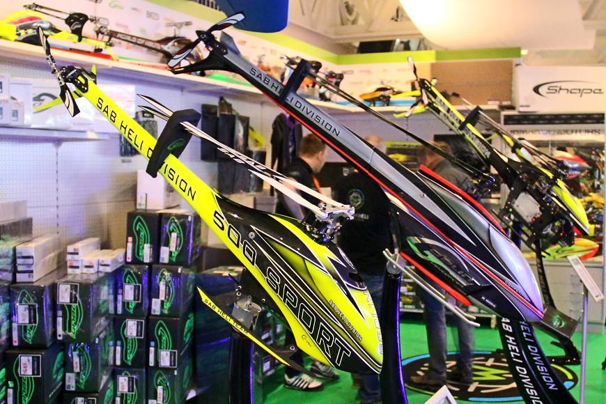 Rotor live 2016: SAB Goblin 500 Sport