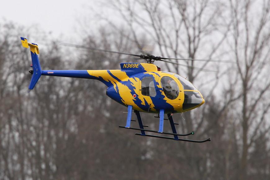 Rotor live 2016: Hughes 500