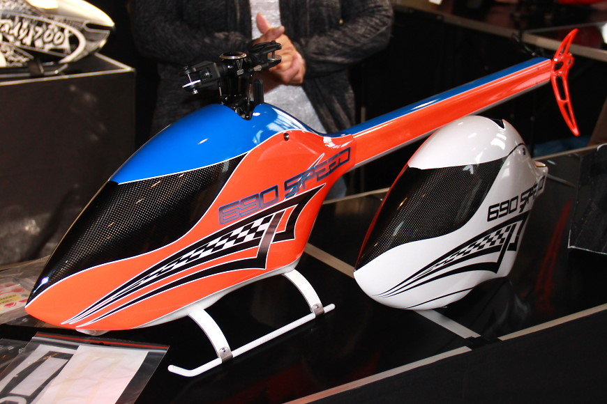 Rotor live 2016: Mikado Logo 690 Speed