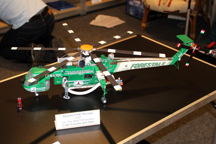 ROTOR live 2019: Sikorsky S64F Skycrane von Heli Scale Quality