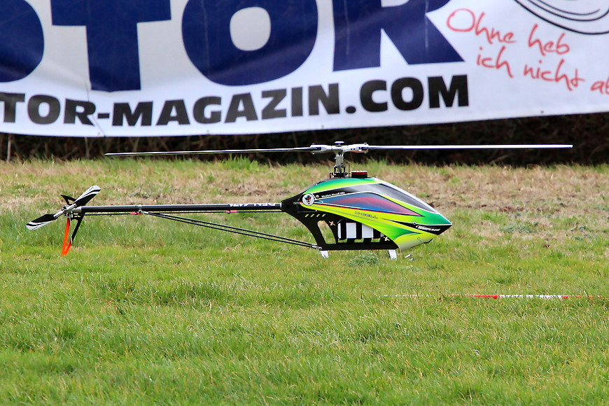 ROTOR live 2019: Miniature Aircraft X-Cell