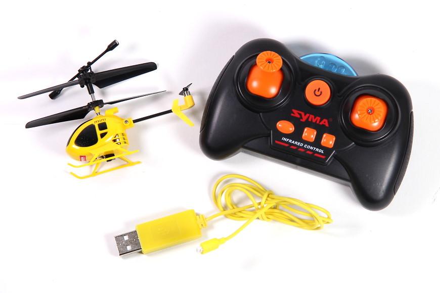 s-idee 01152 (Syma S6 Mini) - Mit Sender und USB-Ladekabel